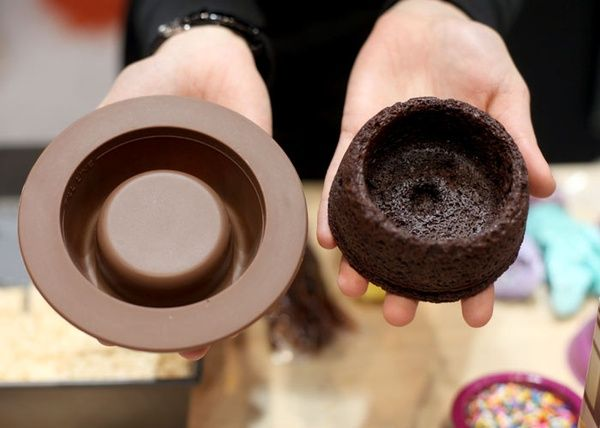 A Brownie Bowl?  OMG!!! Can you think of the possibilities...