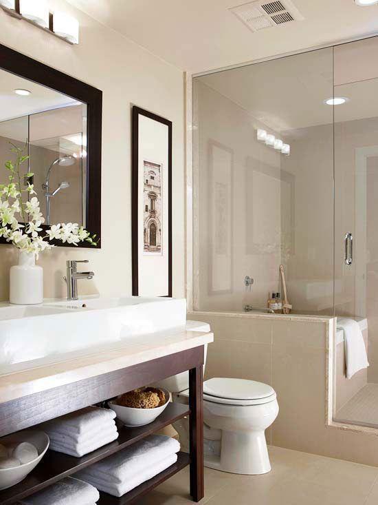 Las 25 mejores ideas sobre cuarto de ba o con lavabo de for D i y bathroom installations