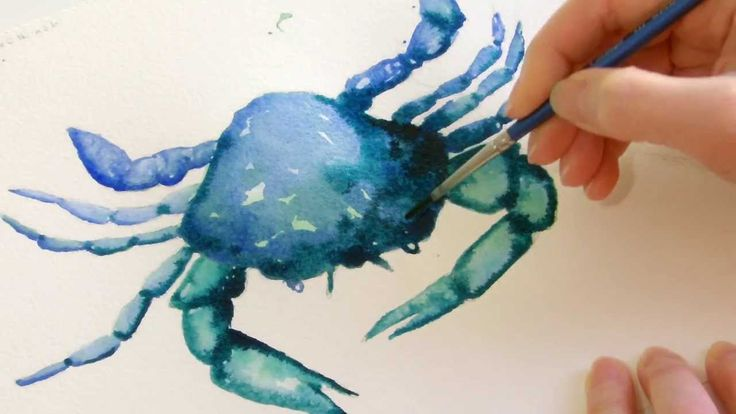 Paint a simple crab with me in this 30 minute video. An easy watercolour crab demo:) Paper is Saunders Waterford 140lbs NOT (Cold Pressed). Brushes are a siz...