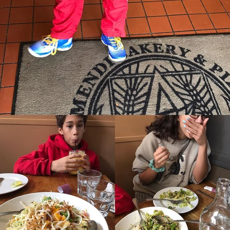 A tour of fav spots in Oakland... Burma Superstar Arizmendi and some new Curry kicks!! Good day.