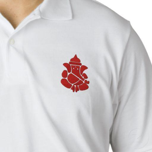 Lord Ganesha Sign Polo Shirt