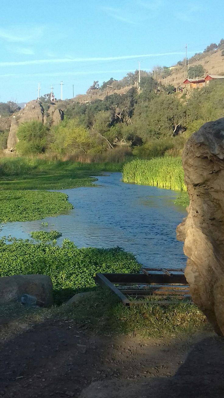 Los peñones , río limari,Ovalle,  CHILE