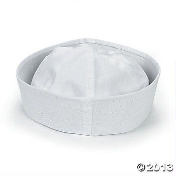 DIY White Sailor Hats, DIY Crafts, Crafts for Kids, Craft & Hobby Supplies - Oriental Trading