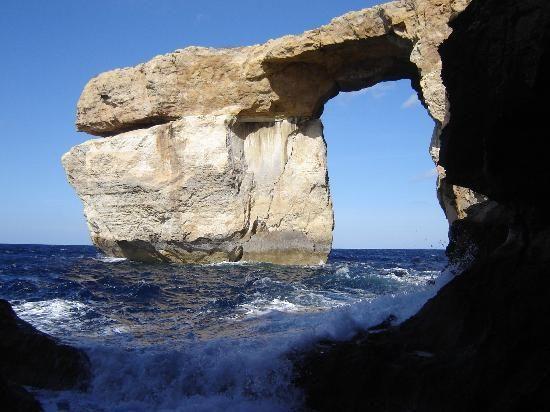 The Azure Window, on the Maltese island of Gozo