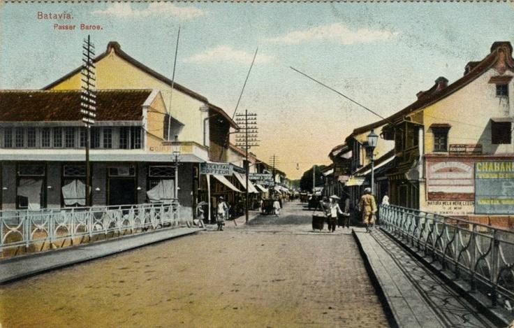 Pasarbaru, Jakarta 1910