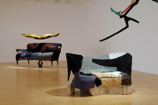 Leda Papaconstantinou, View of exhibition Visitors 2013 @ a.antonopoulou.art_photo by Ioanna Nikolareizh