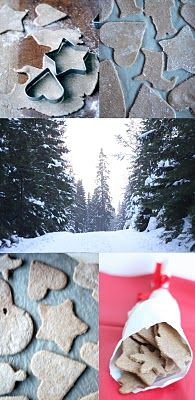 BADENBADEN: Sunne Julekaker: Pepperkaker. Deigen har stått kaldt over natten med en dæsj myse for å nøytralisere antibeitestoffer.