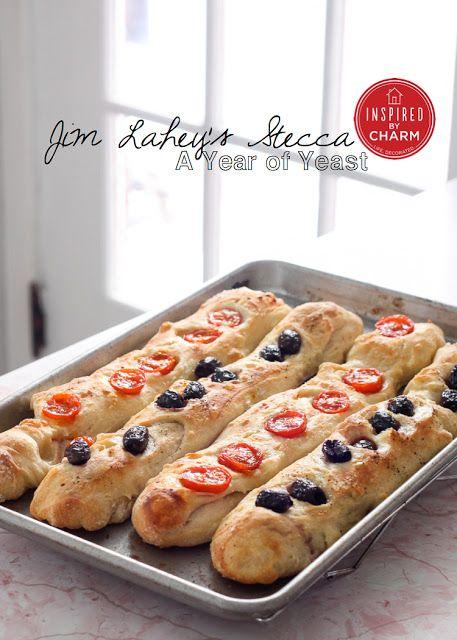 Jim Lahey's Stecca (baguette) #homemade #bread