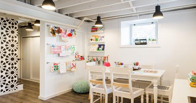 Boho Deco Chic: De sótano a PLAY ROOM, una idea genial para niños!