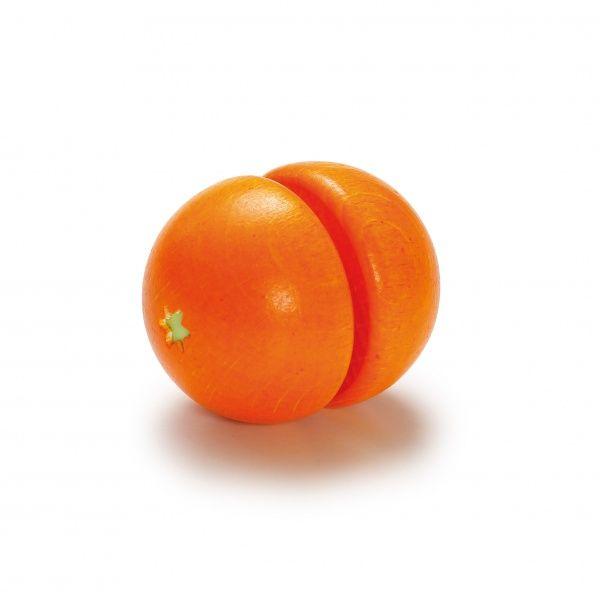Akcesoria do zabawy w gotowanie Erzi - Pomarańcza do krojenia