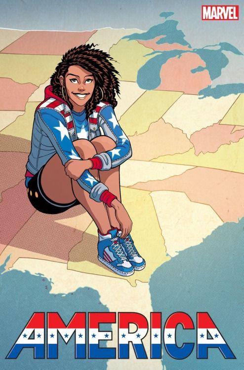 America #1 Variant - Tradd Moore, Colors: Matt Wilson