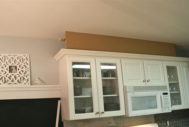 how to add height to kitchen cabinets hello newman s adding height to kitchen cabinets кухня 16767