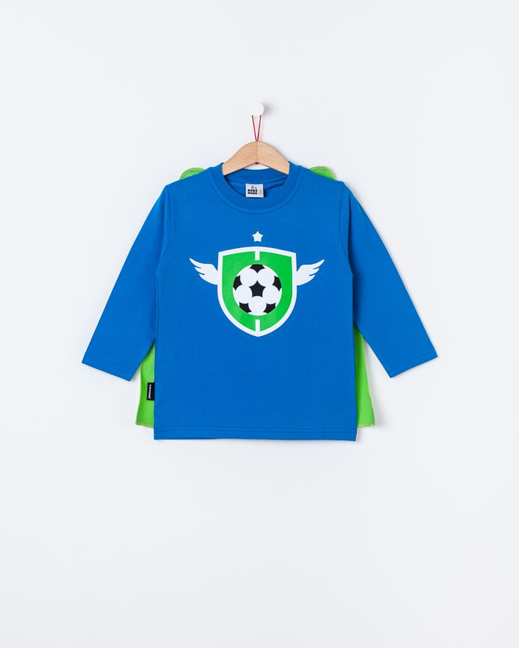 Super Football Player- long sleeve / Super Futebolista - manga comprida
