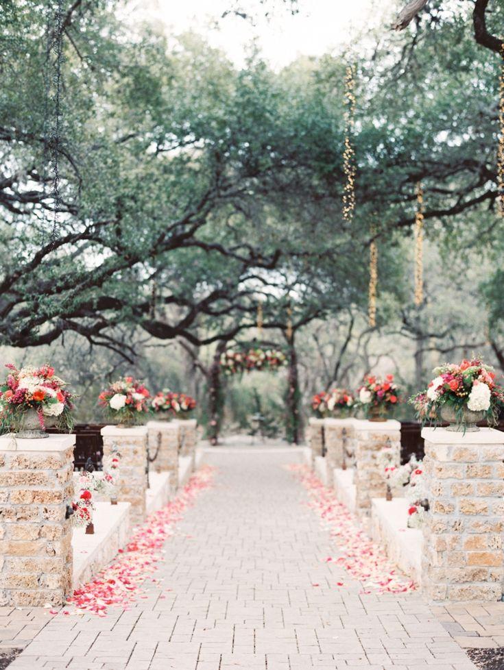 backyard wedding ceremony decoration ideas%0A Romantic Garden Wedding Ceremony