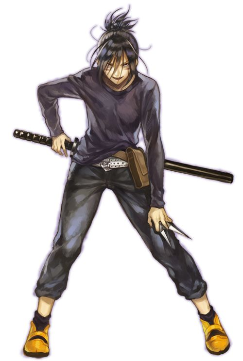 Tags: Anime, One Punch-Man, Onsoku no Sonic, Kunai, Ninja