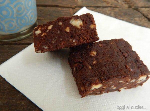 Finti brownies al cioccolato | Oggi si cucina