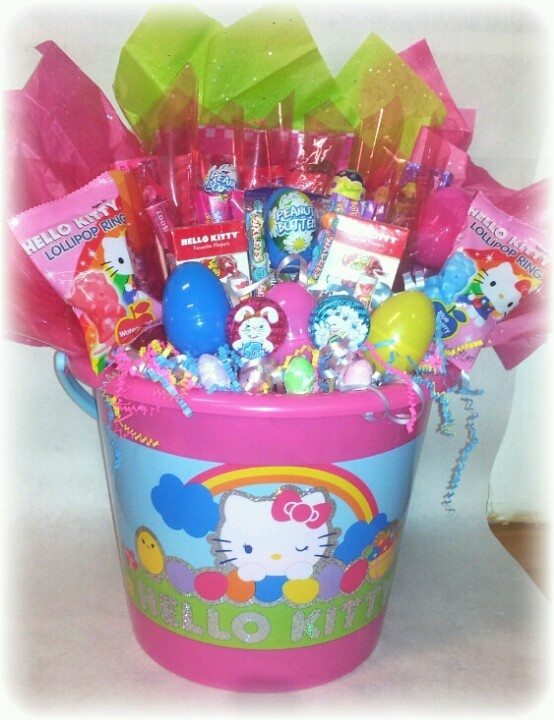 496 best gift baskets images on pinterest gift ideas christmas hello kitty easter bouquet storesebayunique candi creations negle Images