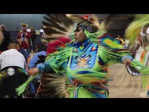 Men's Fancy- OKC Princess Honor Dance 2017 - YouTube