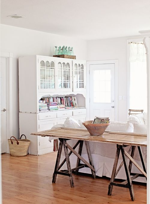 A French country style house in California. Dreamy Whites.