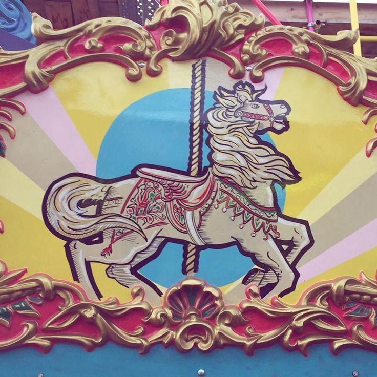 All the fun of the fair! @dreamlandmargate #Margate #dreamland #dreamlandmargate #kent #visitkent #seagulls #greatbritishseaside #forthedreamers #visitkent #escapethecity #escapelondon #vintagerides #epig