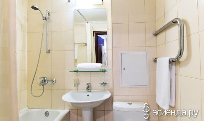 Чистая ванна – заслуга хозяйки