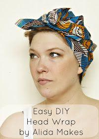 Alida Makes: Easy DIY head wrap