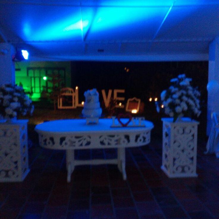 Romántico y elegante LaRocaEventos Chinacota N/S.