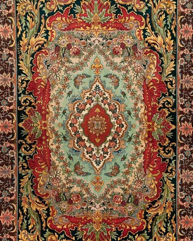 Antique Tabriz Collection These Extremely Rare 70 Raj Beauties Are