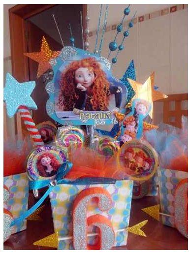 37 best images about brave party fiesta tem tica de - Mesas infantiles disney ...