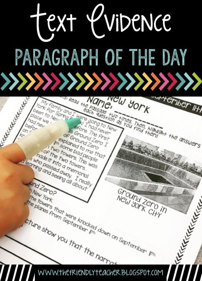 Hit every common core standard, practice text evidence, and work on reading comprehension with these daily paragraphs!