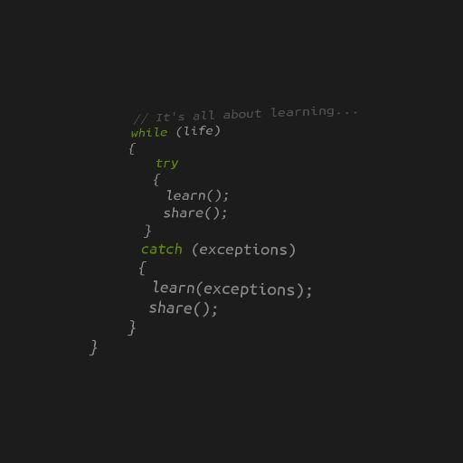 """Hello World!"" ""It's all about learning""  #Post de boas vindas do meu #blog. #jpprobr  #Projetos #Programacao #Desenvolvimento de #software #Aprendizado #Learning #GestaoDeProjetos"