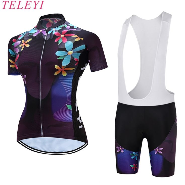 2017 New Sports Cycling Jersey Sets Bike Ciclismo Bicycle Bicicleta Maillot Mtb Clothing Racing Womens Clothes #Affiliate