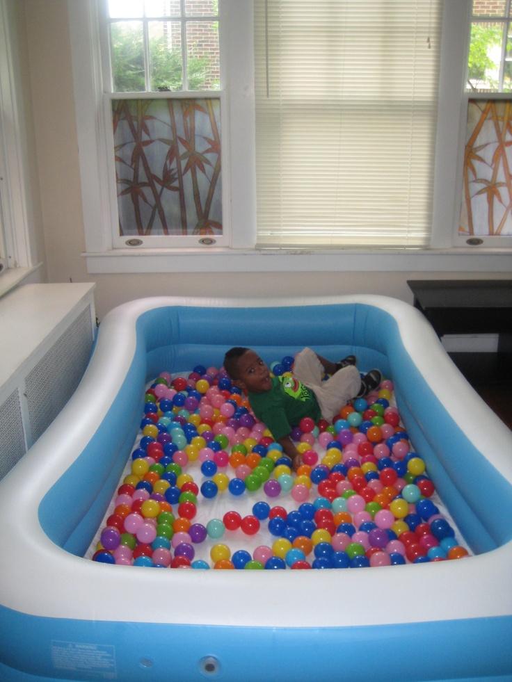 Ball Pit Use A Big Pool Like This Ball Pit Kiddie