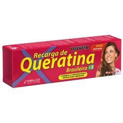 Embelleze Novex Queratina Brasileña Recarga de Queratina (80gr)