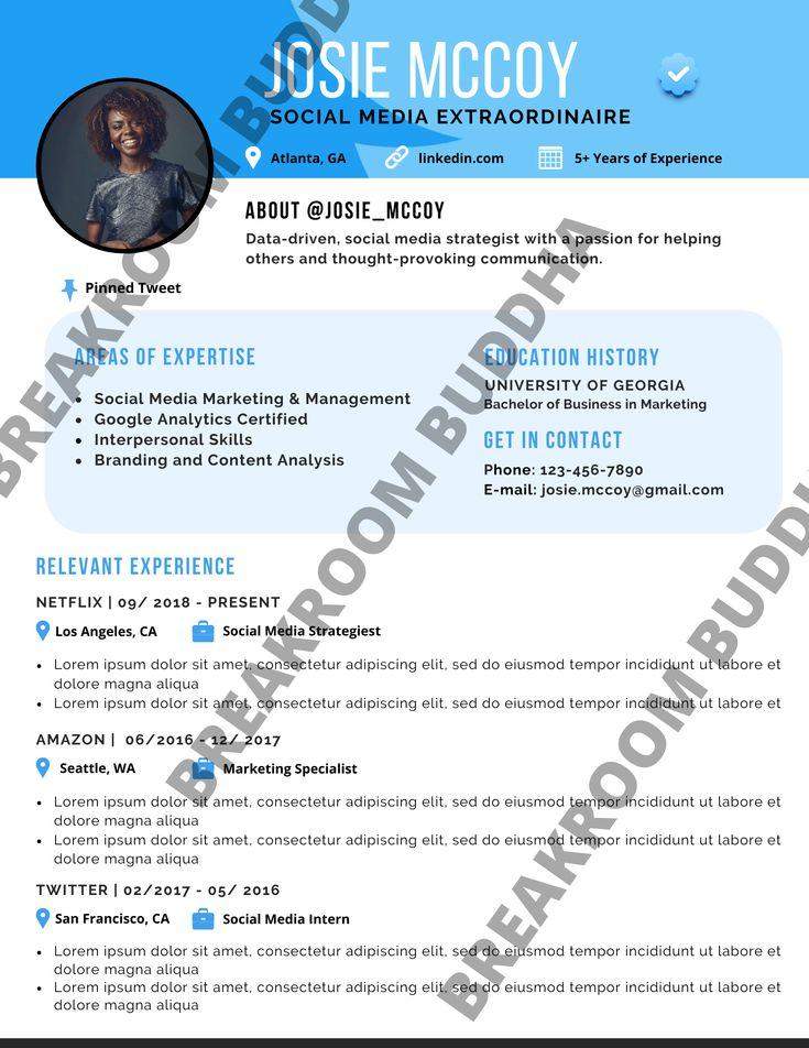 Resume Templates (FREE+ PREMIUM) in 2020 Resume, Resume