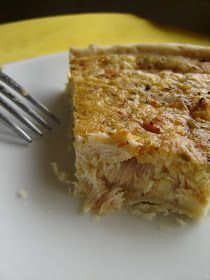 Tuna Quiche (or substitute the tuna with catfish, salmon or flounder, because tuna might be too high in mercury for frequent consumption).