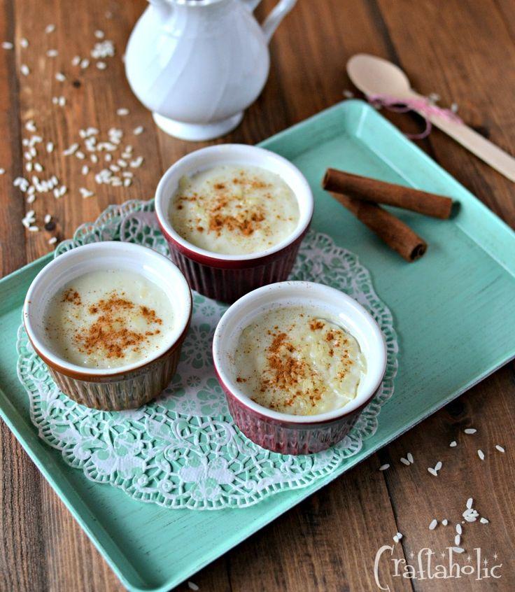 Η δική μου συνταγή για ρυζόγαλο σαν κρέμα. Το απόλυτο ελληνικό επιδόρπιο, αλλά και μια λύση για το γάλα που κοντεύει να λήξει στο ψυγείο.