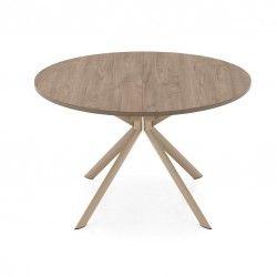 tavolo giove tondo allungabile calligaris