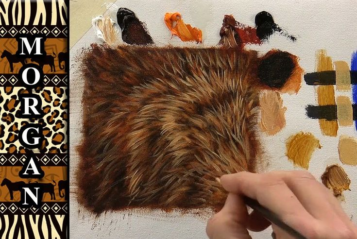 Painting Video Glazing - Wildlife Art Fur Tutorial - Jason Morgan (+play...