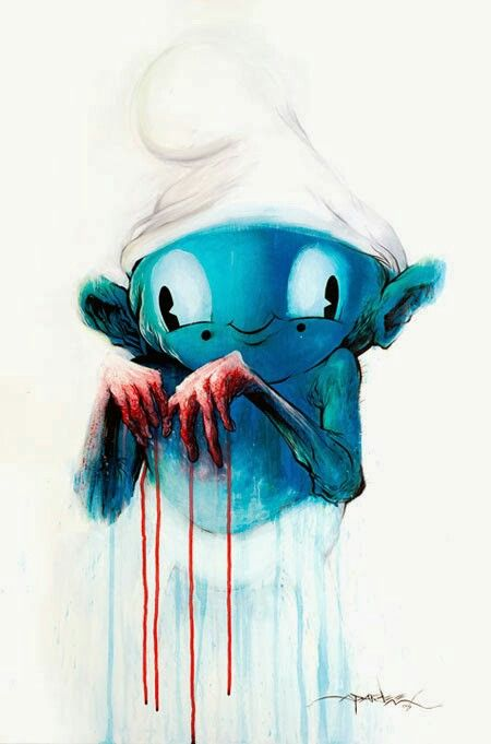 Bloody Blue