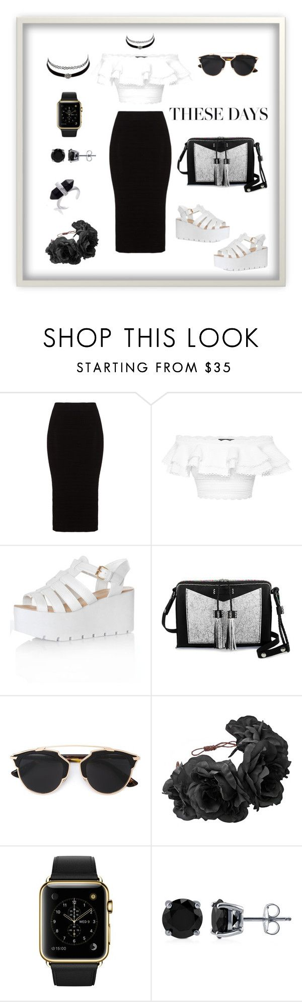These Days Style by pepito-sutrisno on Polyvore featuring Alexander McQueen, Mat, Glamorous, Carianne Moore, BERRICLE, Christian Dior and Charlotte Russe