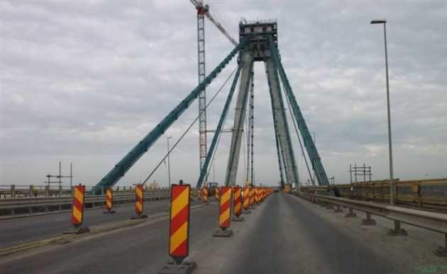 Compania Natională de Administrare a Infrastructurii Rutiere anuntă că traficul rutier pe Podul Agigea se va desfăsura în continuare pe 2 benzi până în data de 5 mai 2017