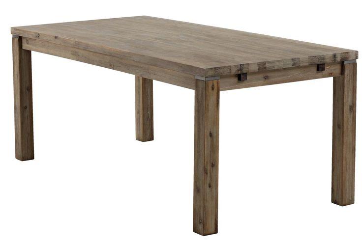 Stół LUNDBY 90x180 cm szarobrązowy   JYSK
