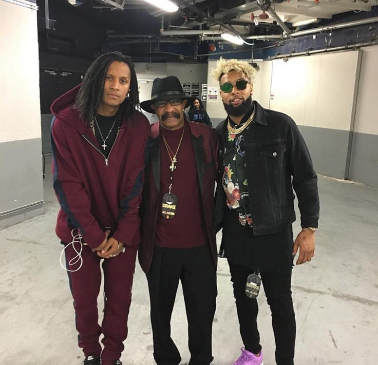Odell with Drakes Parents