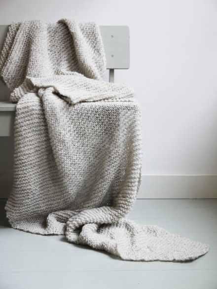 194 Best Images About Knitting Blankets On Pinterest