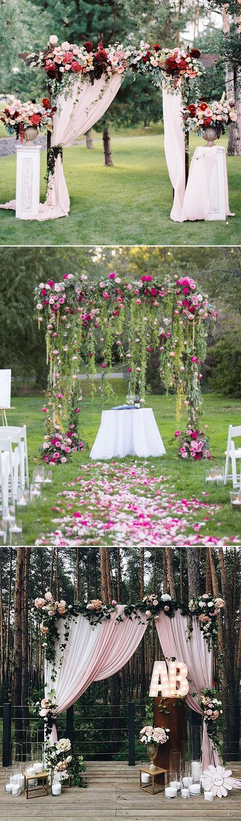 Best 25 Floral arch ideas only on Pinterest Wedding arches