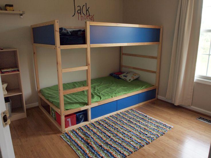 Ikea Etagenbett Kura : Ikea kura etagenbett: hochbett vorhang u wohn design