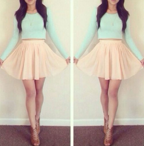 Pastel Babe || Teen Fashion ||
