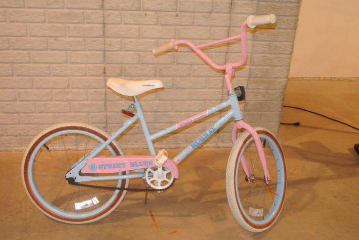 "LotNut:  Nice Murray Street Blues girls 20"" bike in good condition."