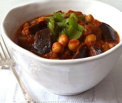 Марокканский тушеный нут с баклажаном рецепт – марокканская кухня, вегетарианская еда: основные блюда. «Афиша-Еда»